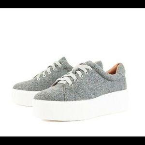 Sellys London Women's Grey Sneakers Sz.6-6.5